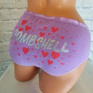 Victoria's Secret Purple Hiphugger Bombshell Panty